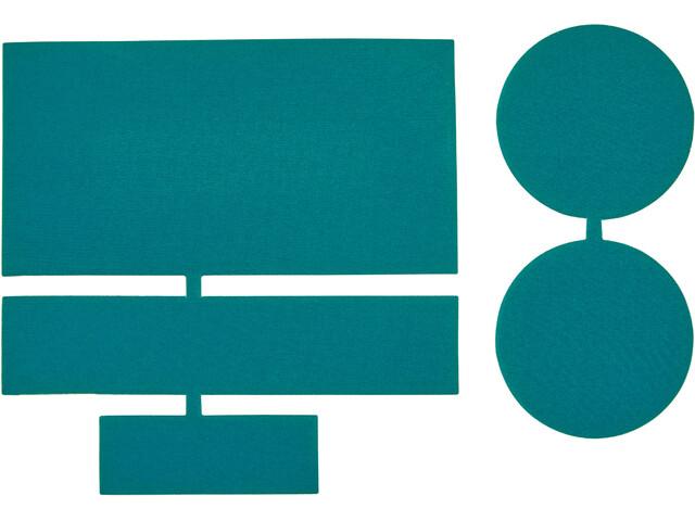 CAMPZ Pièces de réparation en nylon 5 pièces, green
